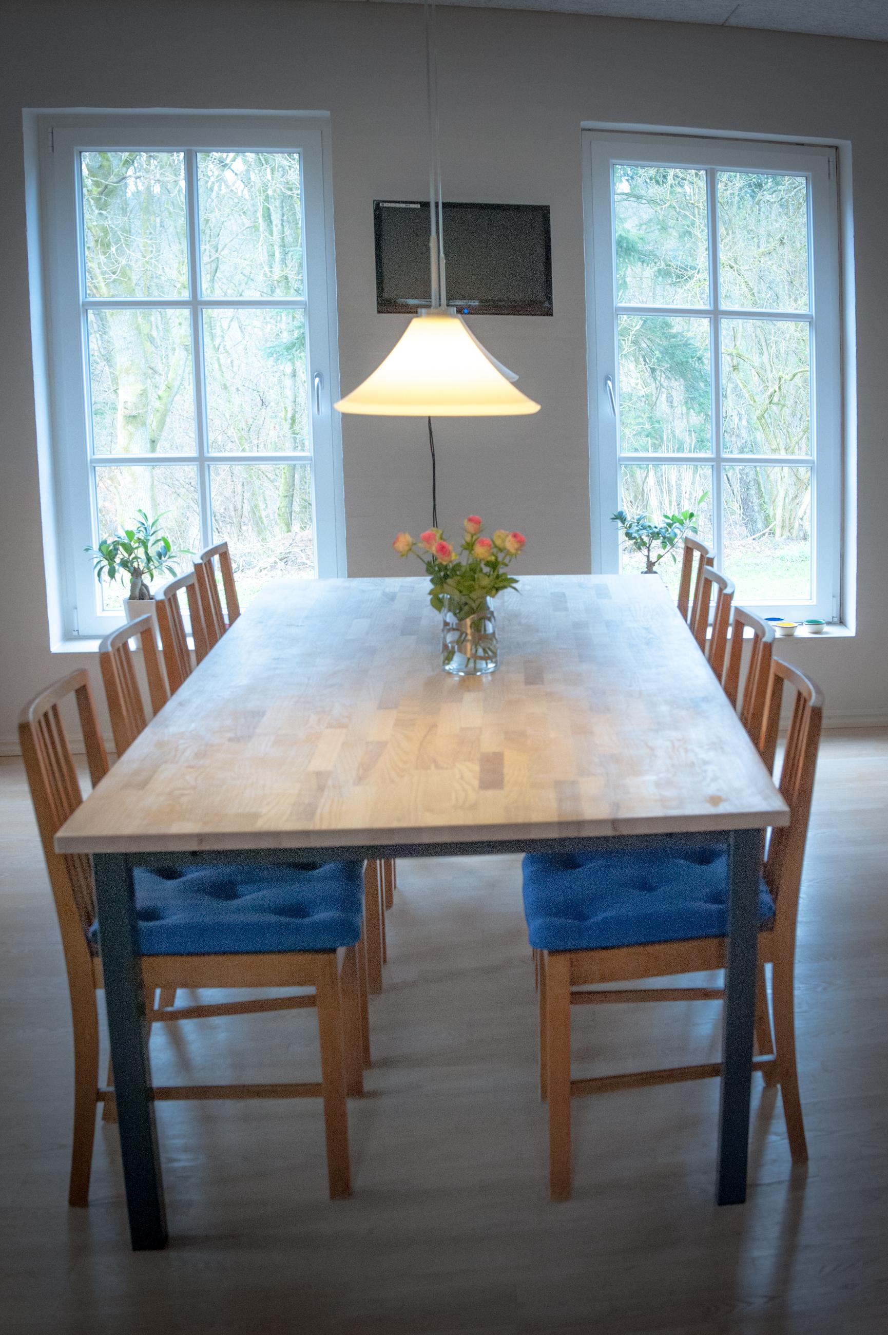 Spisebord - længde efter dit ønske